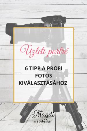 6 tipp, hogyan válassz fotóst üzleti portréd elkészítéséhez