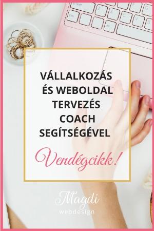 Vállalkozás és weboldal tervezés coach segítségével